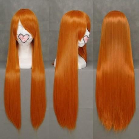 eva asuka orange cosplay perucke