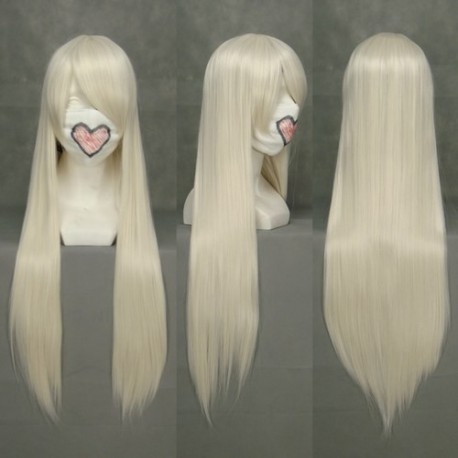chobits chii hellgelbe cosplay perucke