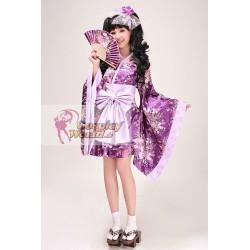 Kimono Kleid Dame Lolita Fashion