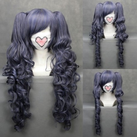 black butler ciel graue cosplay wellige perucke