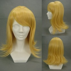 Vocaloid Kagamine Rin gelbe Cosplay Perücke