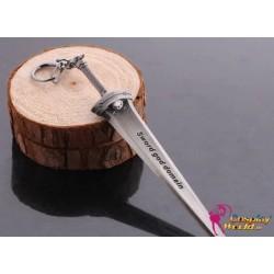 Schwert Art Online Cosplay Accessoire Schlüsselanhänger Waffe Anhänger 2er Set