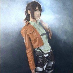 Attack on Titan Maßgeschneiderte Cosplay Kostüme Set 5-teilig Shingeki no Kyojin Anime Manga