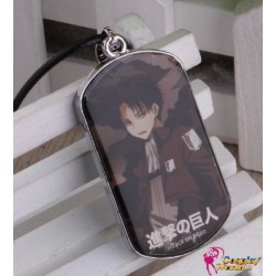 Attack on Tian Shingeki no Kyojin Survey Corp Cosplay Accessoire Levi Ackermann Halskette 2er Set