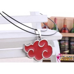 anime manga naruto akatsuki cosplay accessorie red cloud necklace