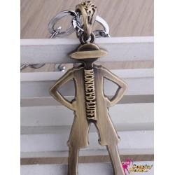 One Piece Kapitän Monkey·D·Luffy Retro personalisierte Anhänger Halskette 2er Set