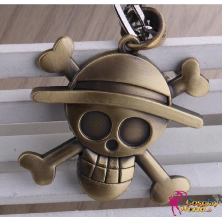 one piece monkey d luffy captain retro personalized pendant necklace