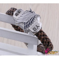 Anime Manga Shingeki no Kyojin Attack on Titan Cosplay Accessoire Gürtel Armband 2er Set