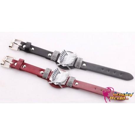 anime manga shingeki no kyojin attack on titan cosplay accessories belt bracelet