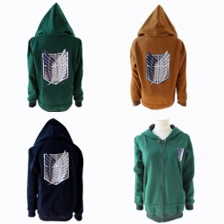 survey corp cosplay shingeki no kyojin attack on titan kostum hoodie kapuze