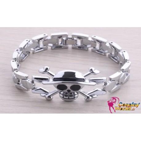 anime manga one piece cosplay accessories skull personalized bracelet