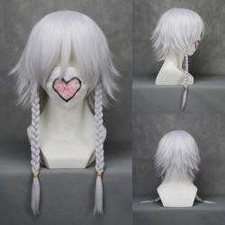 Touhou Project Izayoi Sakuya weiße Cosplay Perücke