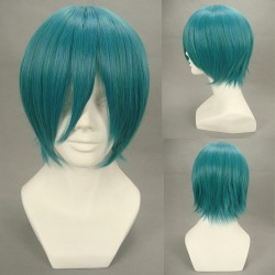 Seil-Step Cousin Shoko Fuyuumi grüne Cosplay Perücke
