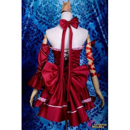 vocaloid miku prinzessin cosplay kostum