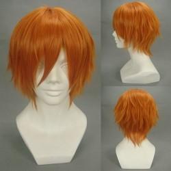Togainu no Chi Yukihito Orange Cosplay Perücke