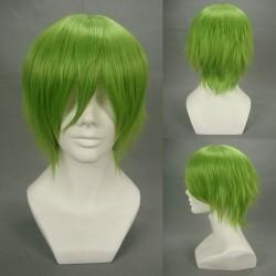 Gundam00 Ribbons Almark grüne Cosplay Perücke