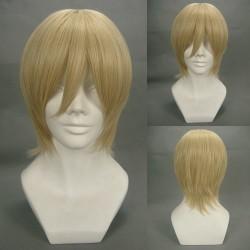 Vampire Knight Ichijou Takuma Gelbe Cosplay Perücke