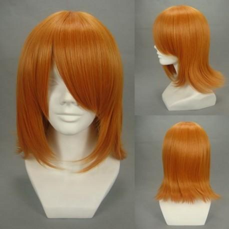 toaru kagaku no railgun misaka mikoto orange cosplay perucke