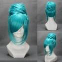 Vocaloid Miku blaue Cosplay Perücke