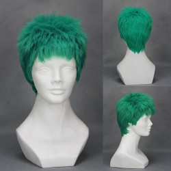 one piece zoro grune cosplay perucke