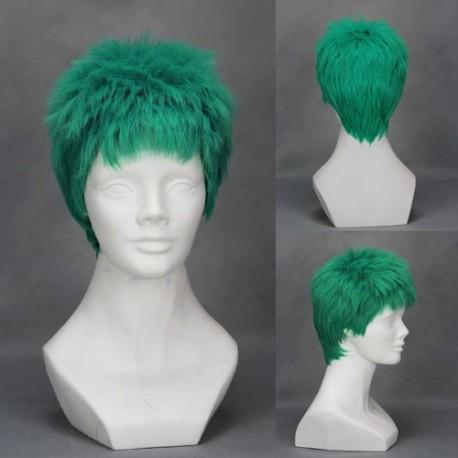 one piece zoro grune cosplay perucke