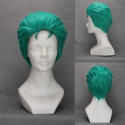 one piece zoro grune cosplay perucke kaneval perucke billige perucke fasching