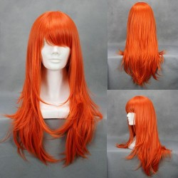 one piece nami orange cosplay perucke