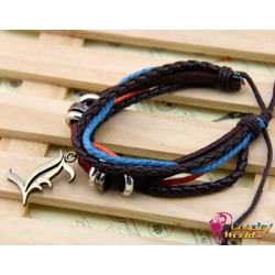 anime manga death note leather bracelet cosplay accessories