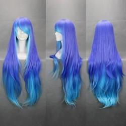 anti theholic sukone tei lila blaue cosplay perucke