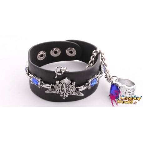 Black Butler Ciel Phantomhive Armband Bracelet Cosplay Accessoire