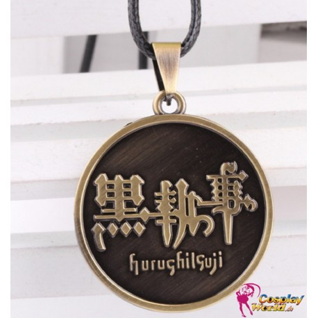 anime manga black butler halskette necklace cosplay accessoire