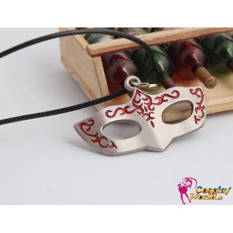anime manga black butler personalized mask necklace cosplay accessories