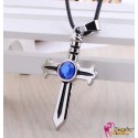 Anime Manga Fairy Tail Cosplay Accessoire Kreuz Halskette Necklace 2er Set