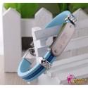 Anime Manga Fairy Tail Cosplay Accessoire Personalisierte Blaue Silikon Armband 2er Set