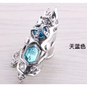 Anime Manga Hitman Reborn cosplay Accessoire Himmel blaue Ring 2er Set