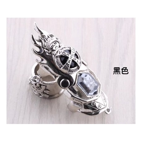 anime manga hitman reborn cosplay accessories black rings