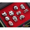 10 Stück Rings Anime Manga Bleach Crops Cosplay Accessoire Ring Set