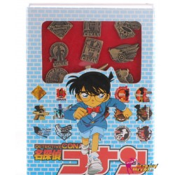 16 Stück Abzeichen Badge Detective Conan Cosplay Accessorie Badge Set Anime Manga