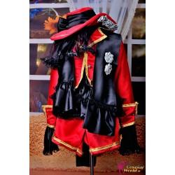 anime manga black butler ciel phantomhive deluxe cosplay costume