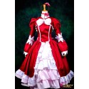 Black Butler Elizabeth Cosplay Kostüm Rotes Kleid Anime Manga