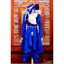 black butler ciel phantomhive cosplay kostum geburtstags party kleid deluxe anime manga