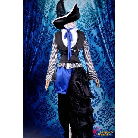 black bulter ciel phantomhive dunkel circus uniform cosplay kostume anime manga