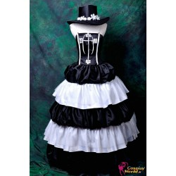 one piece perona lolita cosplay kostume anime manga