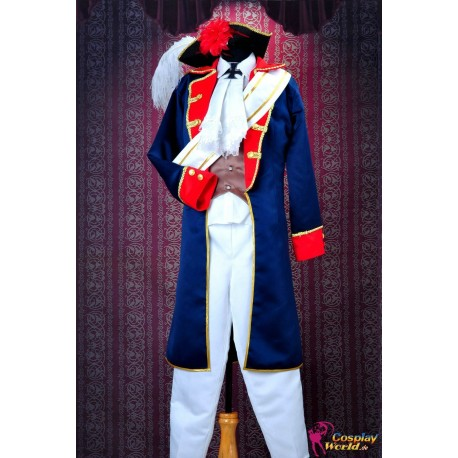 axis powers hetalia prussia war uniform cosplay kostume anime manga