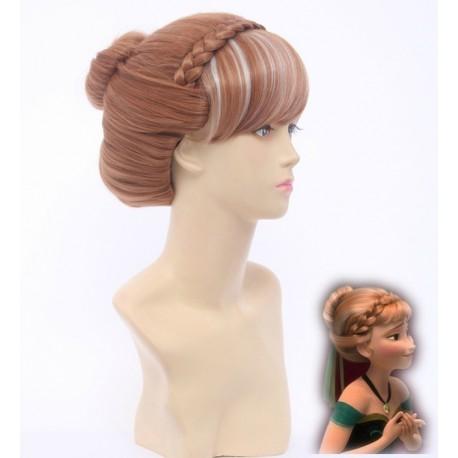 frozen anna perucke wig