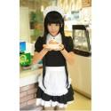 Dienstmädchen Kostüm Hausmädchen Maid Cosplay Japan süß und kawaii Uniform Kleidung Cafe Restaurant Kostüm