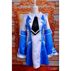 anime manga pandora hearts cosplay kostume echo blaues kleid