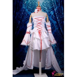 anime manga pandora hearts alice cosplay kostume deluxe weisses kleid