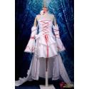 Anime Manga Pandora Hearts Alice Cosplay Kostüme Deluxe weißes Kleid