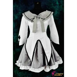 anime manga puella magi madoka magica cosplay costume akemi homura lolita dress